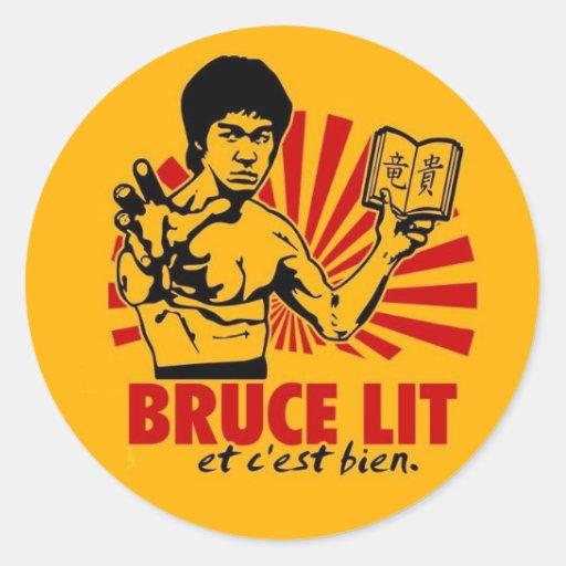 Bruce Lit Stickers