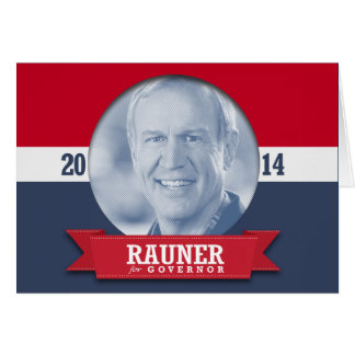 BRUCE RAUNER CAMPAIGN CARD