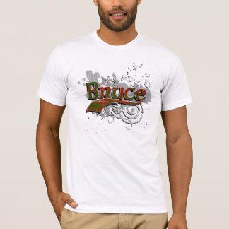 Bruce Tartan Grunge T-Shirt