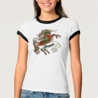 Bruce Tartan Unicorn T-Shirt