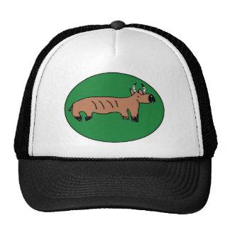 bruce the buffalo drawing trucker hats