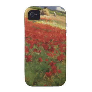 BRUCE, William Blair poppies poppy red flowers vin Vibe iPhone 4 Covers
