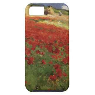 BRUCE, William Blair poppies poppy red flowers vin Case For The iPhone 5