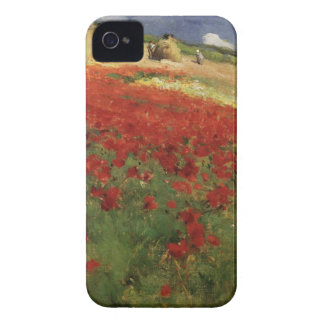 BRUCE, William Blair poppies poppy red flowers vin iPhone 4 Cover