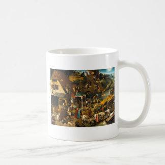 Bruegel Netherlandish Proverbs Basic White Mug