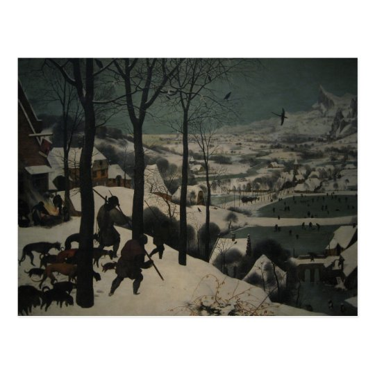 Bruegel's Hunters in the Snow Postcard