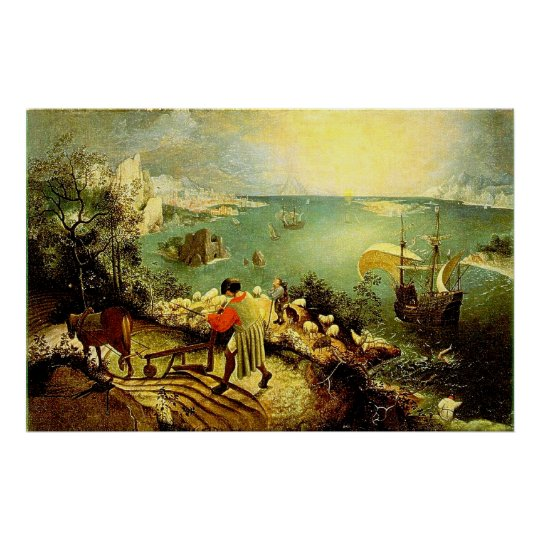 Bruegel's Landscape with the Fall of Icarus -