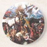 "Bruegel's ""The Fall Of The Rebel Angels"" (1562) Drink Coasters"