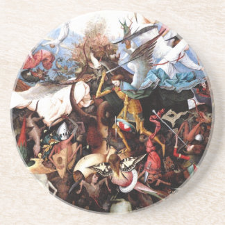 "Bruegel's ""The Fall Of The Rebel Angels"" (1562) Coaster"