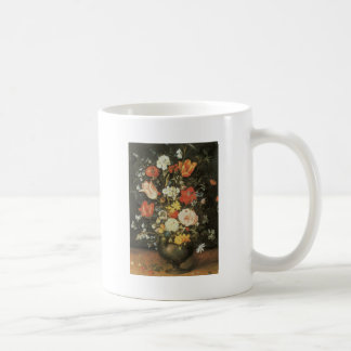 Brueghel the Younger Flowers in a Metal Vase Coffee Mugs