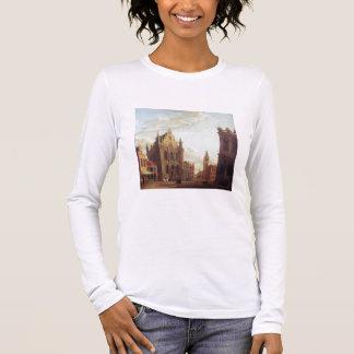 Bruges, 1824 (oil on panel) long sleeve T-Shirt