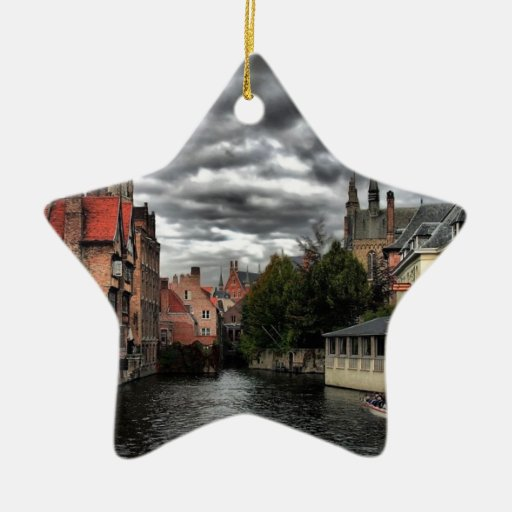 Bruges, Belgium Christmas Tree Ornaments