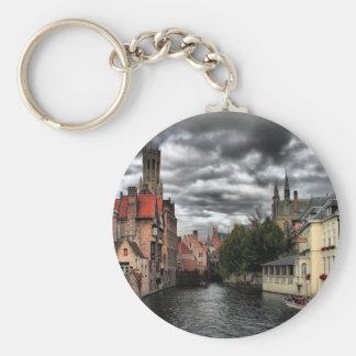 Bruges, Belgium Key Ring