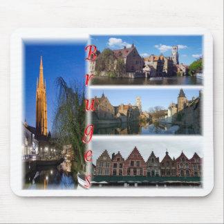 Bruges Belgium Mouse Mat