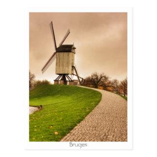Bruges Postcard