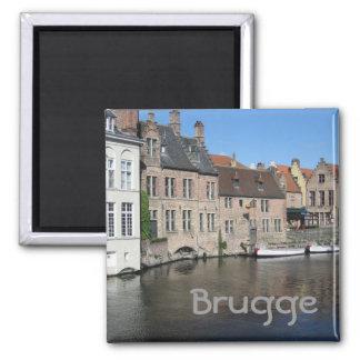 Bruges Square Magnet