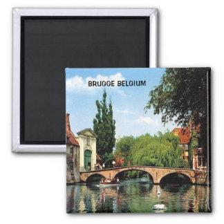 BRUGGE BELGIUM FRIDGE MAGNET