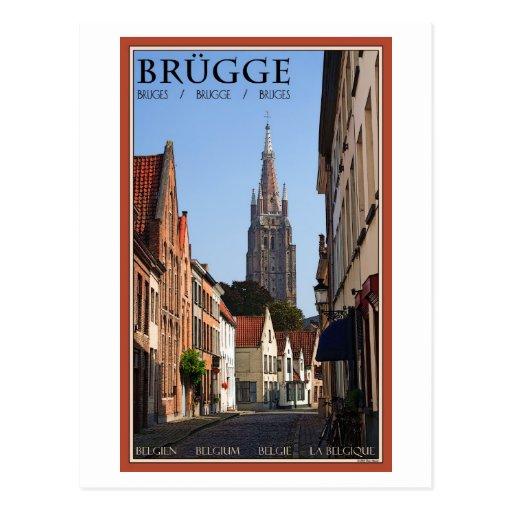 Brugge Postcards