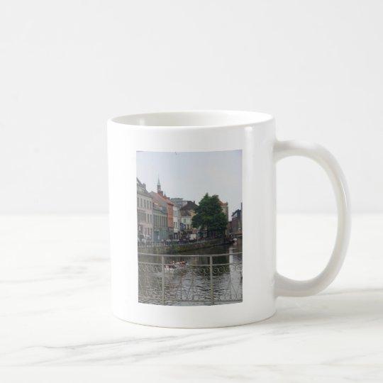 Brugge view coffee mug