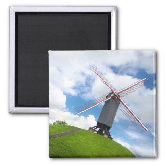 Brugge Windmill Magnet