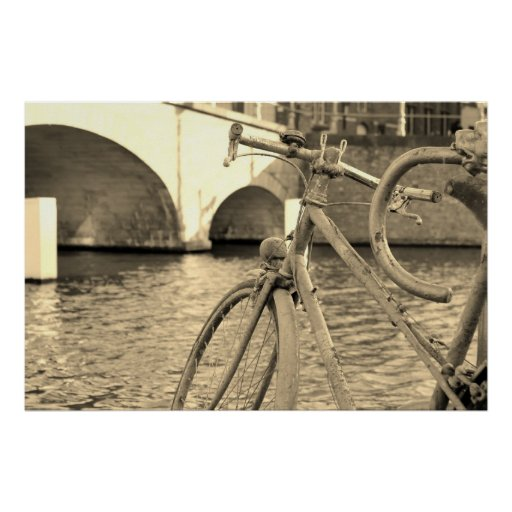 Brugges Bicycle Poster