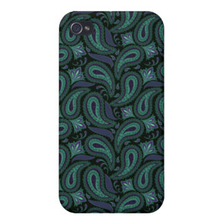 Bruised Paisley iPhone 4 Cases