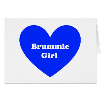 Brummie Girl Card