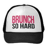 Brunch So Hard Magenta & Black Cap