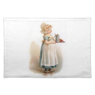 Brundage A Knickerbocker Maid Placemat