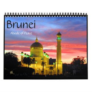 brunei 2018 wall calendars