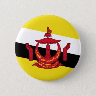 brunei 6 cm round badge