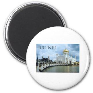 Brunei 6 Cm Round Magnet