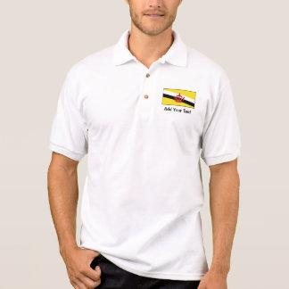 Brunei – Bruneian Flag Polo Shirt