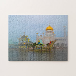 Brunei Darussalam  Golden Mosque. Puzzle