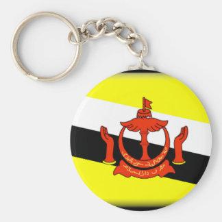 Brunei Flag Key Chain