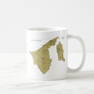 Brunei Flag ~ Map Mug