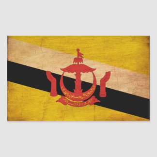 Brunei Flag Rectangular Sticker
