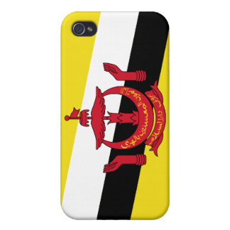 Brunei National Nation Flag  Cover For iPhone 4