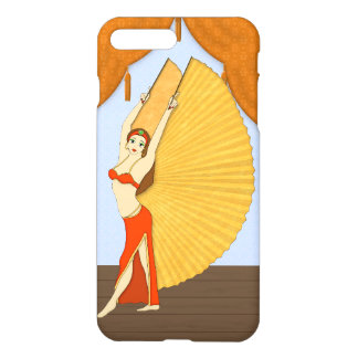 Brunette Bellydancer with Gold Isis Wings iPhone 7 Plus Case