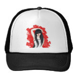Brunette Girl Trucker Hat