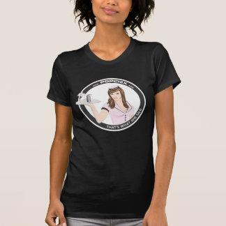 Brunette PopChiX Girl T-Shirt