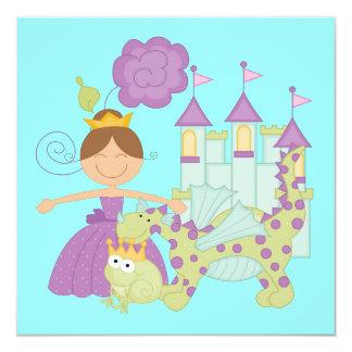 Brunette Princess Card