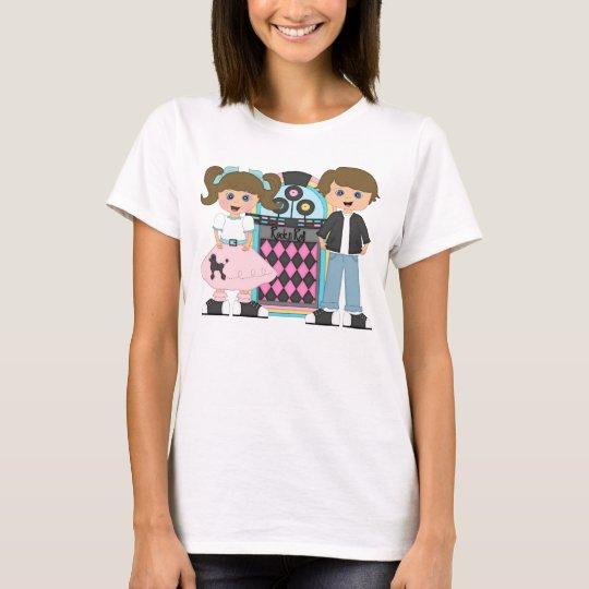 Brunette Sock Hop T-Shirt