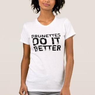 Brunettes do it better tank