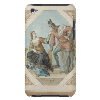 Brunhilde and Hagen, illustration for 'The Niebelu iPod Touch Cases