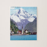 Brunnen, Lake Lucerne Jigsaw Puzzle