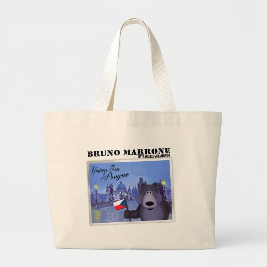 Bruno in Prague Tote Bag