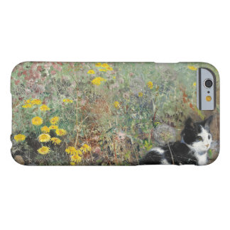 Bruno Liljefors - Cat on Flowerbed Barely There iPhone 6 Case