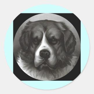Bruno Round Sticker