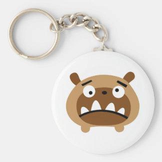 Bruno the dog key ring